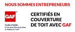 Entrepreneur en toiture certifié GAF